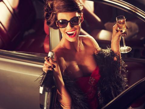 Жінка-шампанське